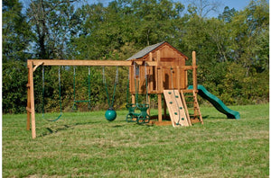864-A 32 X 14 Wooden Swing Set