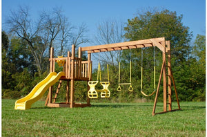 748-B 22 X 16 Wooden Swing Set