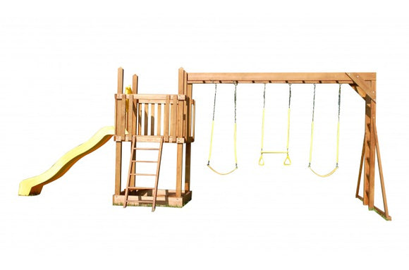 747-B 26 X 14 Wooden Swing Set