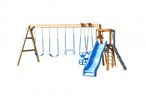 724-A 24 X 18 Wooden Swing Set