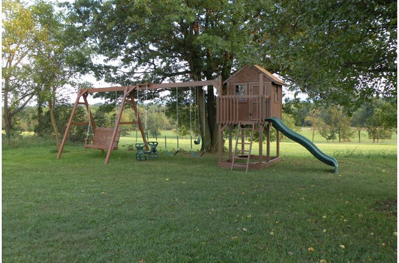 863-A 35 X 14 Wooden Swing Set