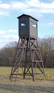 5X5 Wooden Hunting Blind