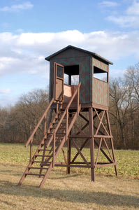 6X6 Wooden Hunting Blind