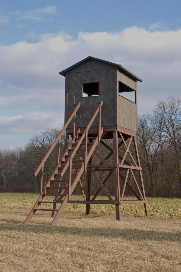 8X8 Wooden Hunting Blind
