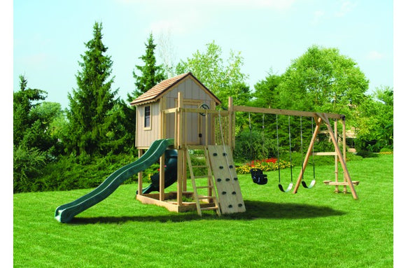895-A 22 X 16 Wooden Swing Set