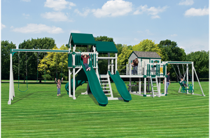 SK-45 RETREAT MOUNTAIN CLIMBER Swing Set