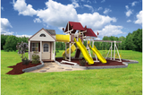 SK-60 COTTAGE ESCAPE Swing Set