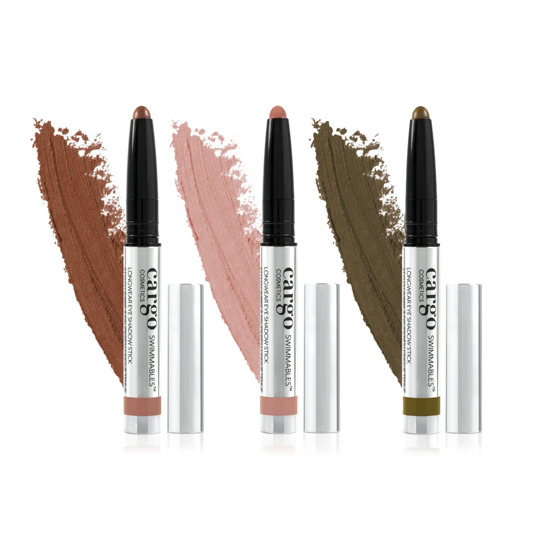 Swimmables™ Eye Shadow Sticks - Neutrals Trio