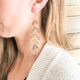 Cascading Leaves Earrings