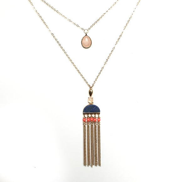 Tribal Layered Necklace
