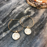 Rebekah Hoop Earrings