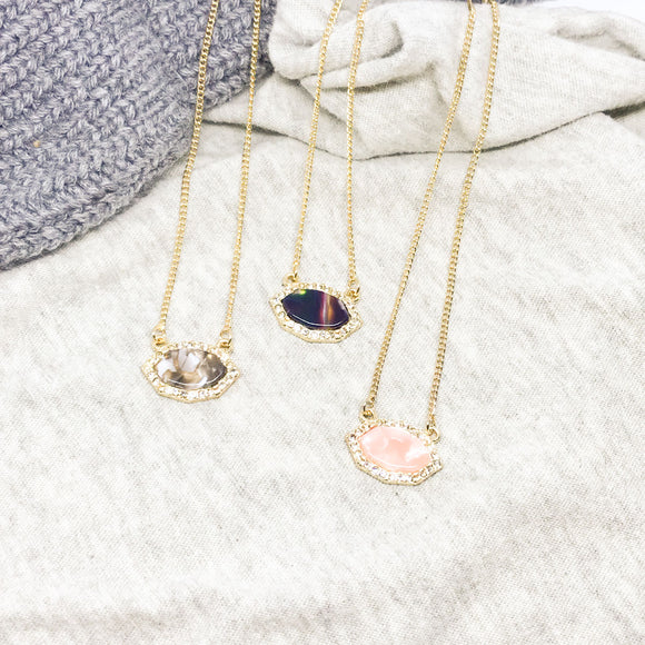 Tabitha Geo Necklaces