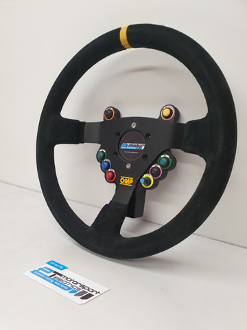 Wireless Steering Wheel Kit with Rear Enclosure
