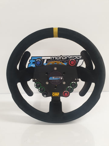 Wired Canbus Steering Wheel Kit with Rear Enclosure & Paddleshift Add On