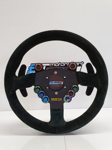 Wireless Steering Wheel Kit with Rear Enclosure & Paddleshift Add On
