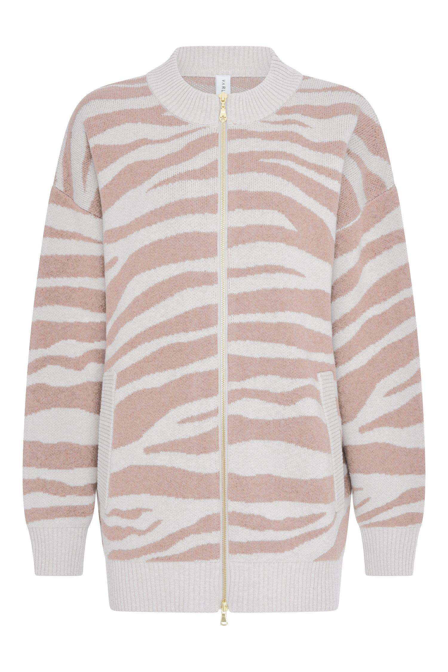 Mayberry Sweater | Blush Zebra