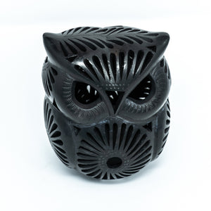 Black Clay Owl