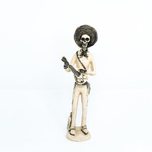 Man with Guitar Resin Figurine