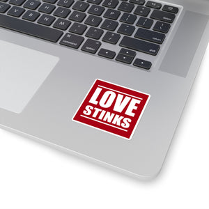 Love Stinks - Square Sticker