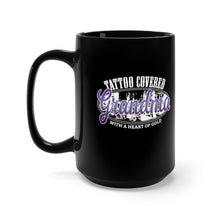 Load image into Gallery viewer, Tattoo Covered Grandma with a Heart of Gold - 15oz Mug