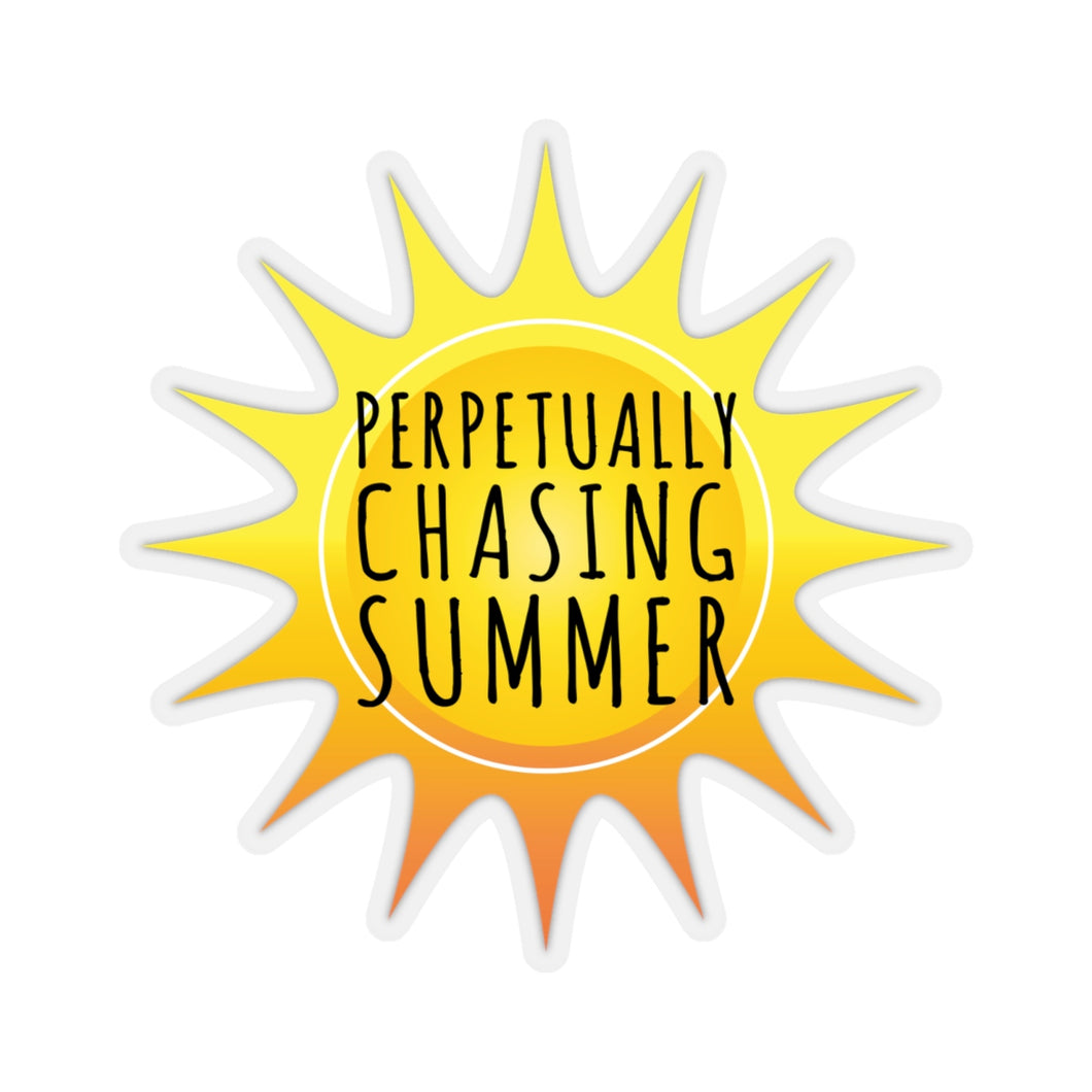 Perpetually Chasing Summer - Sticker