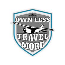 Load image into Gallery viewer, Own Less, Travel More - Sticker