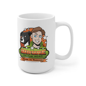 Wayne On The Road Cartoon Logo - Mug