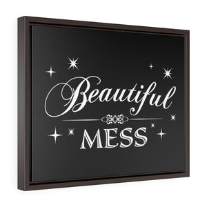 Beautiful Mess - Framed Gallery Wrap Canvas