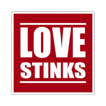 Load image into Gallery viewer, Love Stinks - Square Sticker