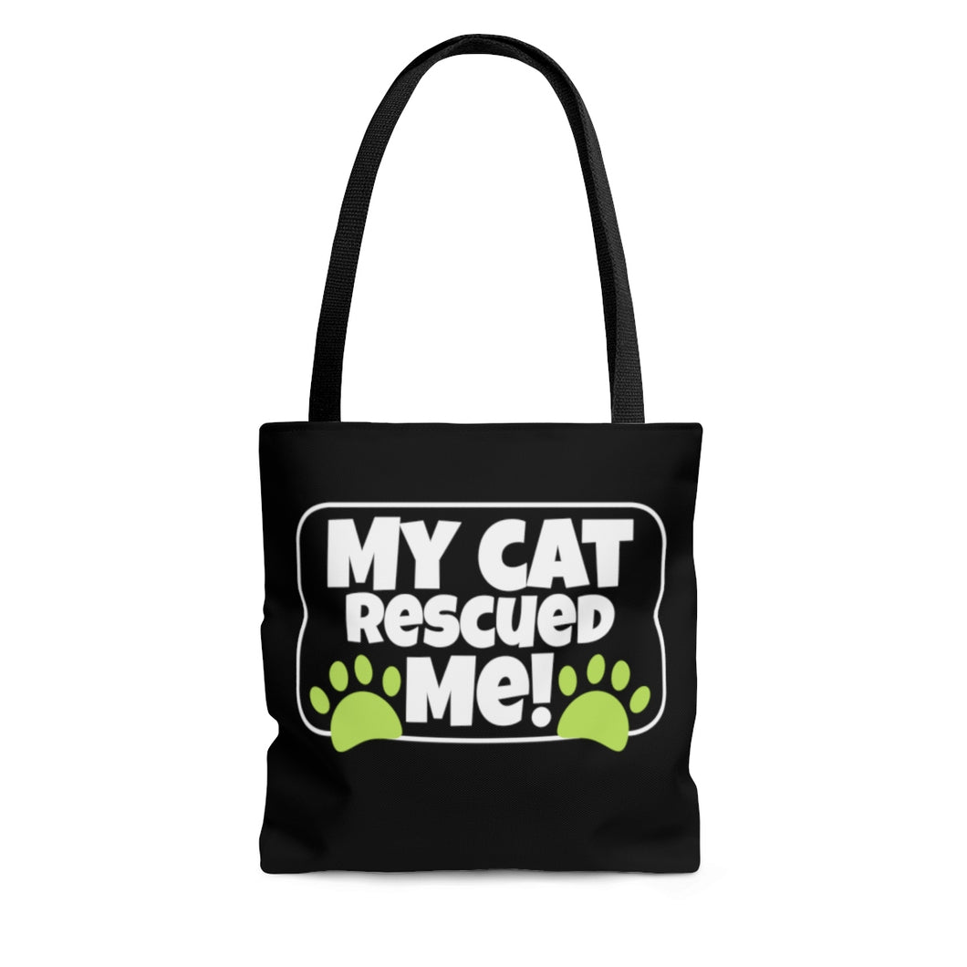 My Cat Rescued ME! - Tote Bag