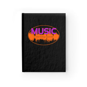 Music Is What Feelings Sound Like - Blank Journal