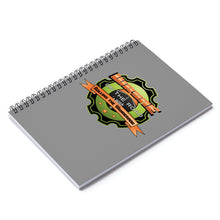 Load image into Gallery viewer, Wayne On The Road Badge - Spiral Notebook