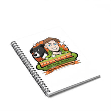Load image into Gallery viewer, Wayne On The Road Cartoon Logo - Spiral Notebook