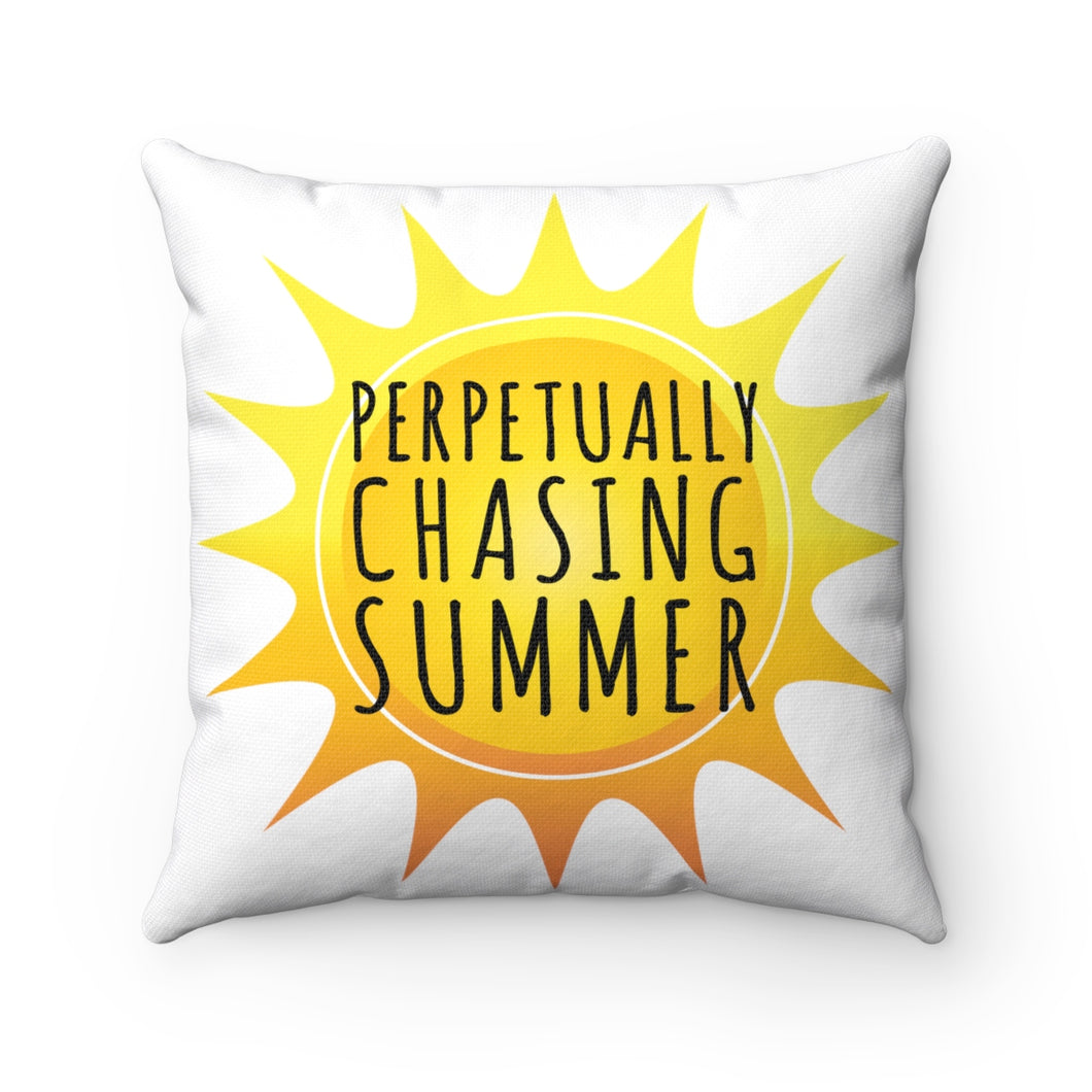 Perpetually Chasing Summer - Pillow