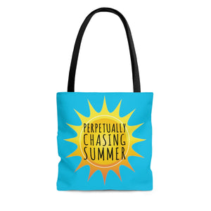 Perpetually Chasing Summer - Tote Bag