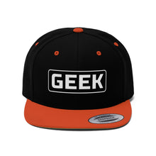 Load image into Gallery viewer, Geek - Flat Bill Hat