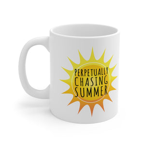 Perpetually Chasing Summer - Mug