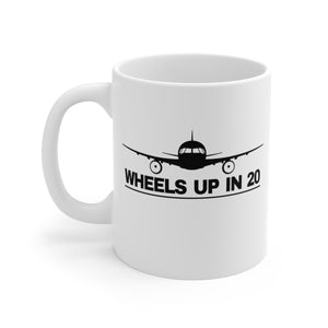 Wheels Up In 20 - Mug