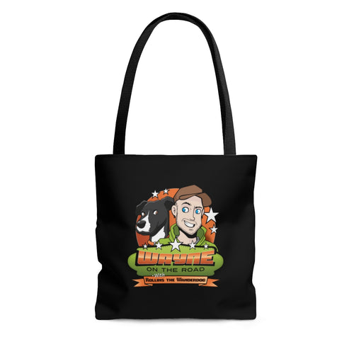 Wayne On The Road Cartoon Logo - Tote Bag