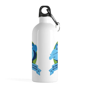 The Monkey On My Back Has A Chip On His Shoulder - Stainless Steel Water Bottle