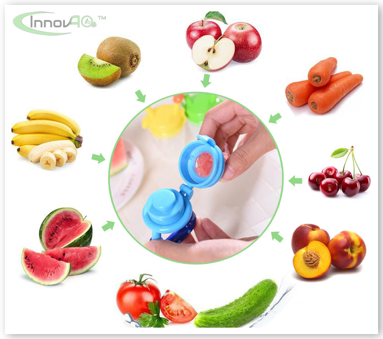 TetiFruti innovao puericulture fruitine tetine fruit grignoteuse babyshark diversificaion DME anneaux dentition