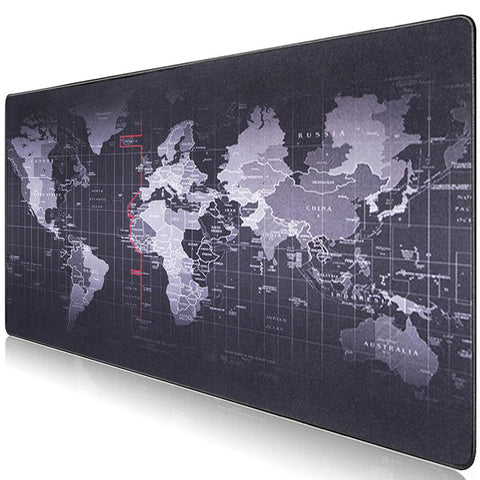 World Map Gaming Mouse Pad - Gamerz Swag