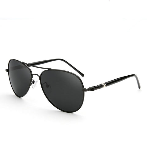 Aviation Polarized Spring Leg Alloy Sunglasses - Gamerz Swag