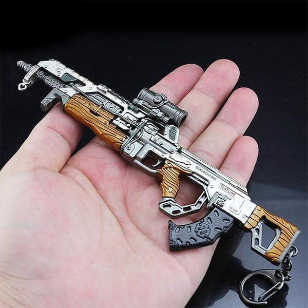 APEX Legends Metal Gun Models with Keyring - Gamerz Swag