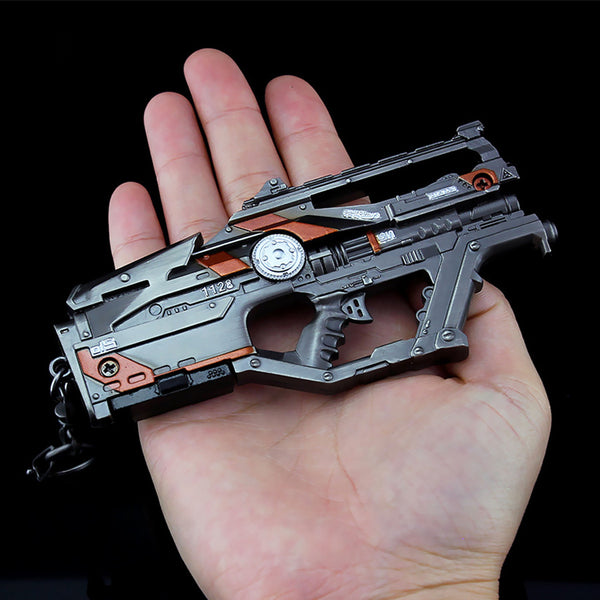 APEX Legends L-STAR EMG Weapon Model with Keyring - Gamerz Swag