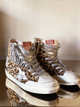 Load image into Gallery viewer, FRANCY LEO ZEBRA HORSY SNEAKER