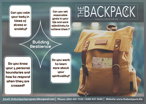 Backpack School Flyer