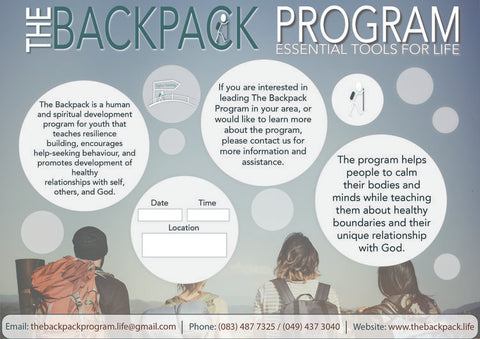 Backpack School Flyer 2