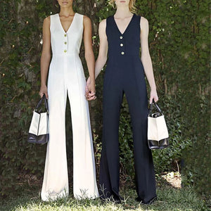 15 Stylish Jumpsuits for Office Lady in Early Autumn