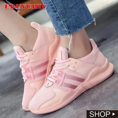 Flat Round Toe Casual Sneakers